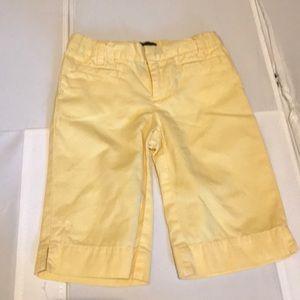 🔥⚡️BOGO SALE⚡️🔥 Ralph Lauren yellow Capri pants